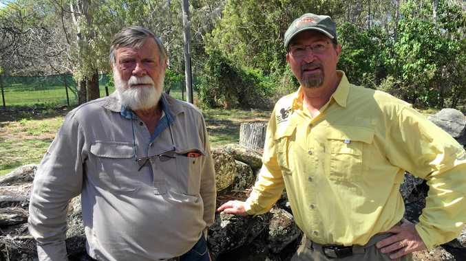 PEOPLE POWER: Dr Col Limpus and Dr Blair Witherington on a mission to save turtles.
