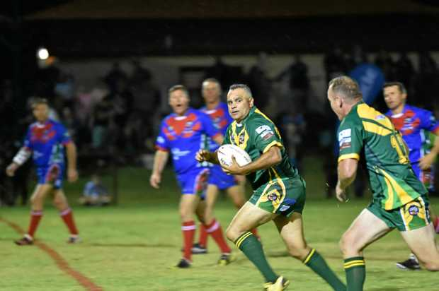 LEGEND: Australia legend Nathan Blacklock will play at the Legends of League match this month.