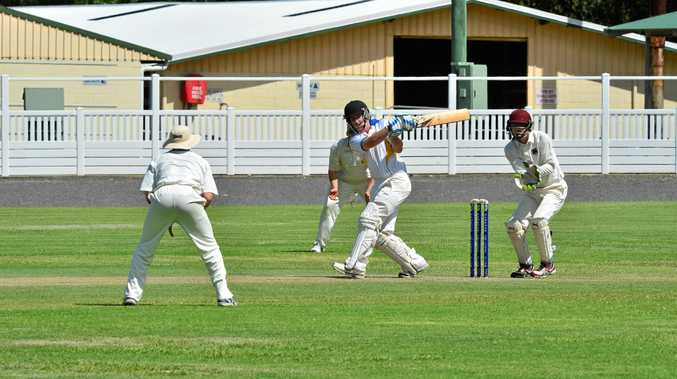 ON THE ATTACK: Nambour's Richard Wilson against Caboolture.