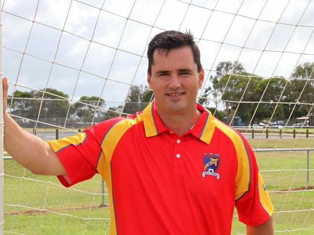 HONOUR: Kawungan Sandy Straits Jets life member Stuart Taylor.