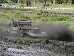 GALLERY: Mud flies at Roma Derby day