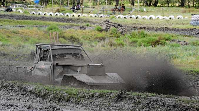 The Roma Rednecks Mud Racing Inc. hosted a Mud Derby on Saturday.