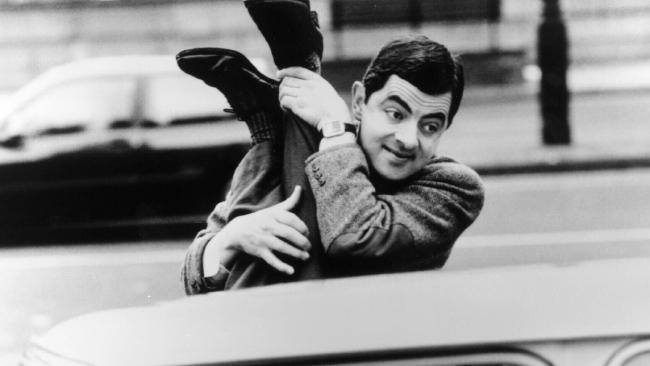 Atkinson is best known for his character Mr Bean. Picture: News Limited.