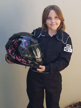 Anita Board is in a critical condition after crashing her drag racer at the Perth Motorplex. Picture: Facebook