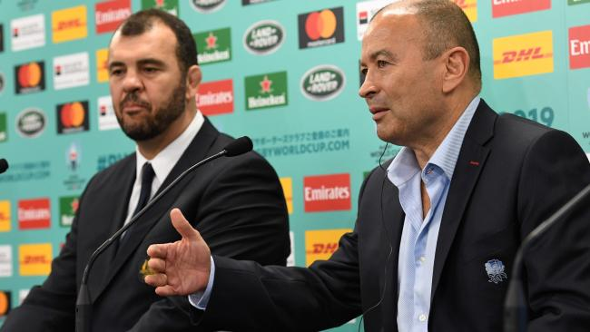 There will be no love lost between Michael Cheika and Eddie Jones.