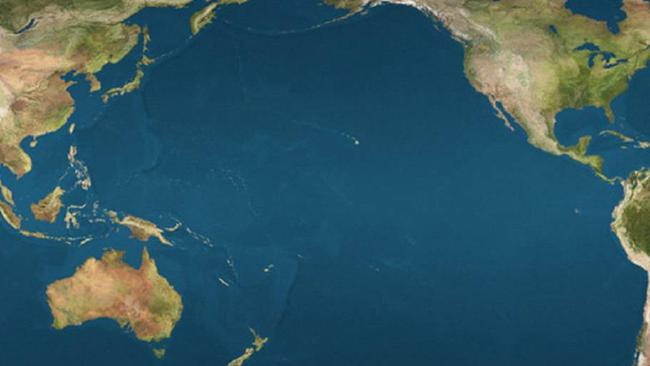 "The ""shadow zone"" lies around 2km below the surface of the North Pacific Ocean and is thousands of kilometres long."