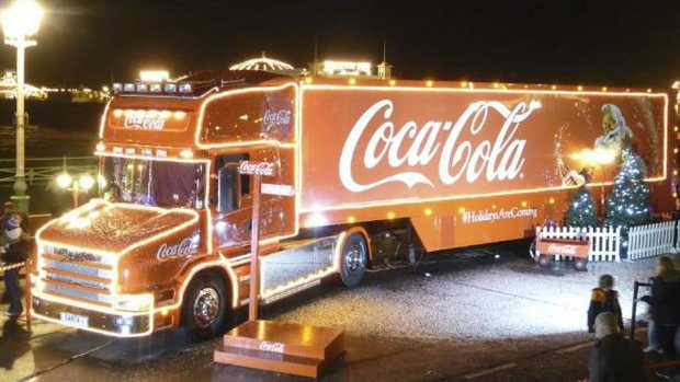 The Coca Cola Christmas Truck is finally coming to NSW and parts of Queensland. Picture: Supplied