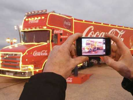 Coca-Cola is bring its Christmas Truck to Australia. Picture: Supplied