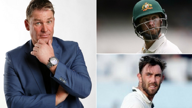 Shane Warne has named his starting XI for the Aussies and England.