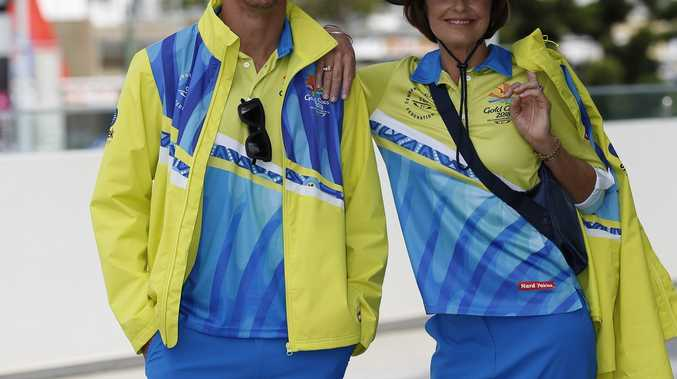 Volunteer uniforms for the Gold Coast Commonwealth Games.