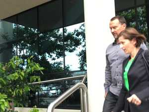 Scott Volkers leaving the Maroochydore Courthouse