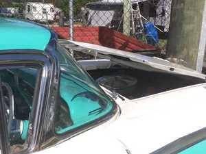 Car crash at Kybong