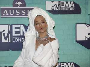 Rita Ora's truly bizarre red carpet outfit