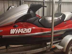 Appeal launched after jet ski stolen from Rockville home