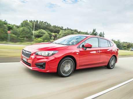The Subaru Impreza.