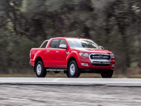 The Ford Ranger.