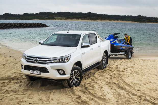 The Toyota HiLux is Australia's most popular vehicle.