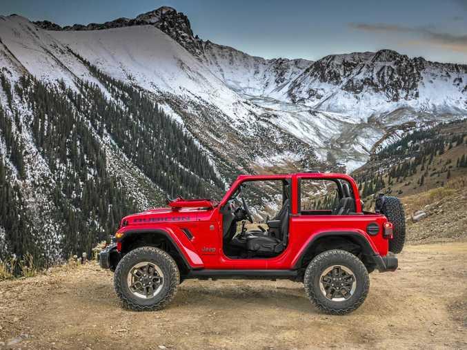 All-new 2018 Jeep Wrangler Rubicon.