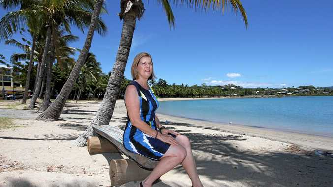 HARD YARDS: Whitsunday mayor Jennifer Whitney says she's done the hard yards, made the tough decisions, copped the flak and should now have the chance to deliver the rewards. Photo Sharon Smallwood / Whitsunday Times