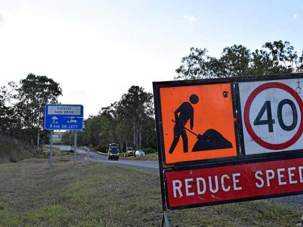 ROAD WORKS: Maintenance works will begin in the Mackay region next month.