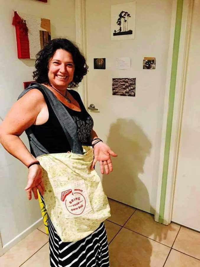 Terri Lethlean has helped launch Boomerang Bags in Mackay.