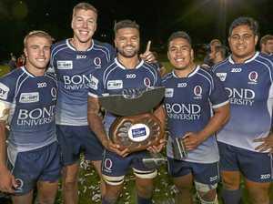 Toowoomba players celebrate NRC title