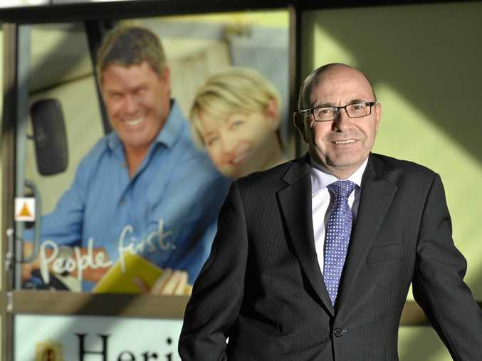 REFORMS: Heritage Bank CEO Peter Lock endorses the Hammond Review's recommendations.