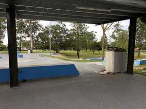 Crews called to fire at new skate park in Maryborough