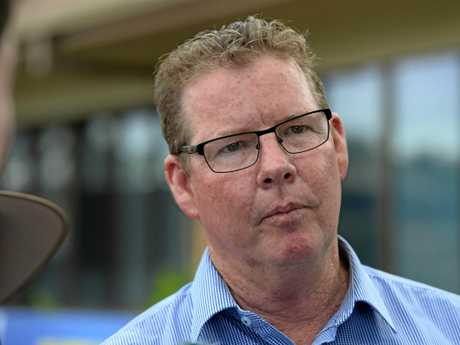 ALP Candidate for Rockhampton Barry O'Rourke.
