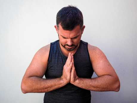 Banker and Zenko Yoga teacher Andy Squires is raising funds for Movember.