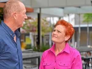 Pauline Hanson furious at new Senator Fraser Anning