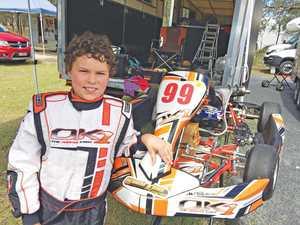 Budding racer sets new PBs at kart meeting