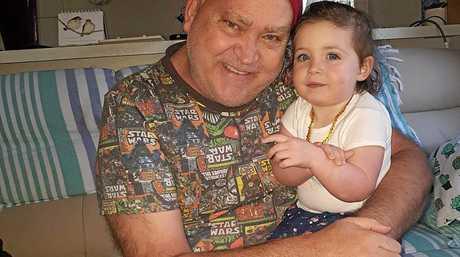Peter Fogarty and his beloved granddaughter Mackenzie.