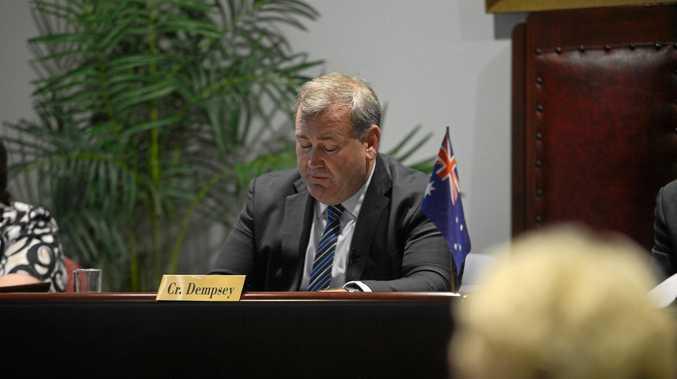 BUDGET PLAN: Mayor Jack Dempsey at budget time.