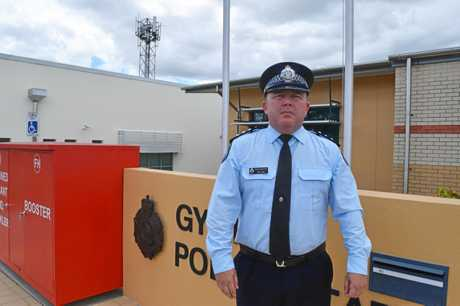 Gympie police acting inspector Paul Algie.