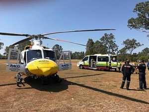 Rescue chopper fundraiser tin stolen by repeat petty crim