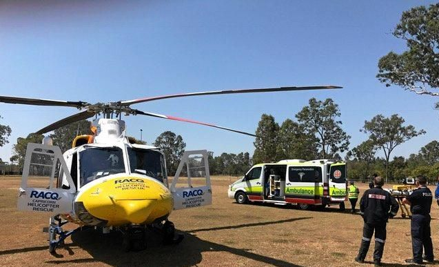 Not-for-profit RACQ Capricorn Helicopter Rescue Service was a victim of a petty criminal's offending earlier this year.