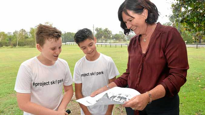 Flynn Bushell and Ethan Laval chat to ALP candidate for Whitsunday Bronwyn Taha about the announcement of $1 million dollars towards a skate park in the Northern Beaches area.
