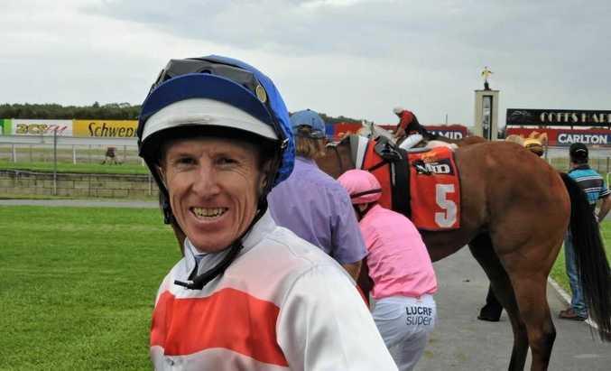 Jockey Matt Bennett.