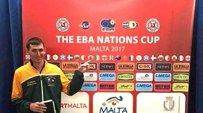 Toowoomba's Nathan Appleton has finished 15th in the World at the EBA Nations Cup held in Malta from November 9-12.