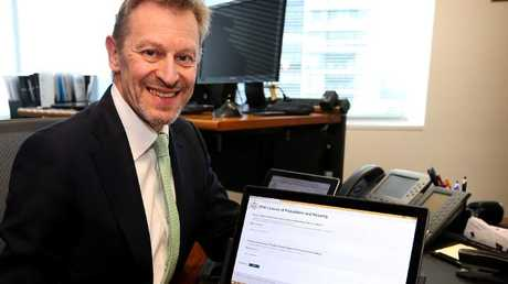 Australian statistician David W. Kalisch will know how Australia voted in the same-sex marriage survey before you do. Picture: Kym Smith