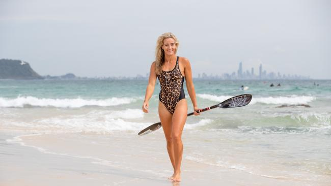 Currumbin ironwoman Tara Coleman has been forced out of the Nutri-Grain series with injury, the first time in eight years she will not compete in the elite competition. Photo: LUKE MARSDEN