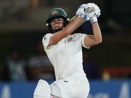 Australia's Ellyse Perry, who scored a big double century, was named Player of the Match.