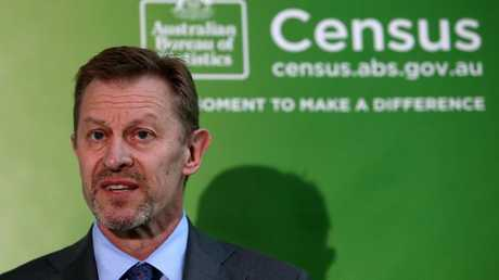 The Census outage tested David Kalisch's leadership. Picture Kym Smith