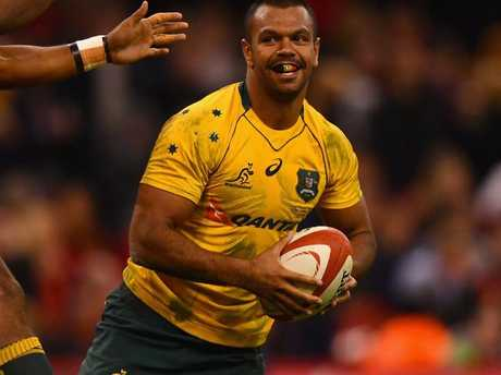 Kurtley's grin is about to go global.