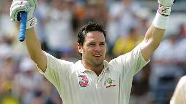 Brad Hodge had a brief Test career.