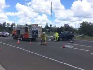 VIDEO: Crash on Mary Valley Rd