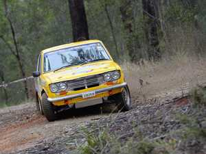 Four locals hit the rally road