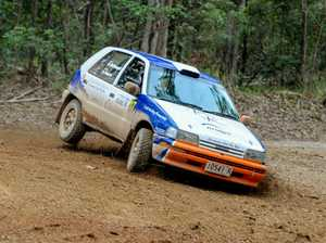 The Daihatsu Charade of Bruce McDougall and Kellie Pearce will be bearing the number 123 in this week's Kennards Hire Rally Australia.