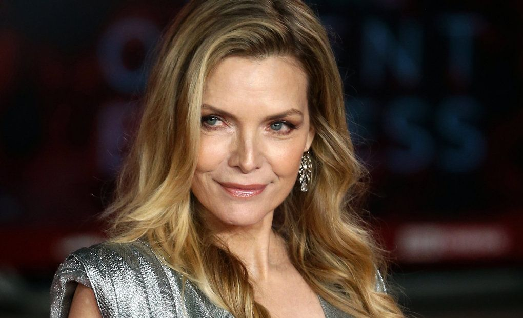 US actress/cast member Michelle Pfeiffer arrives at the for the world premiere of Murder on the Orient Express at the Royal Albert Hall in Central London.